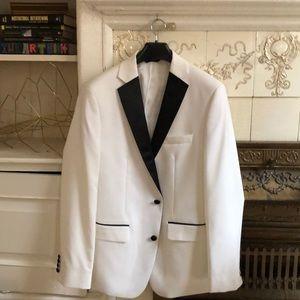 Slim fit tuxedo jacket 40R